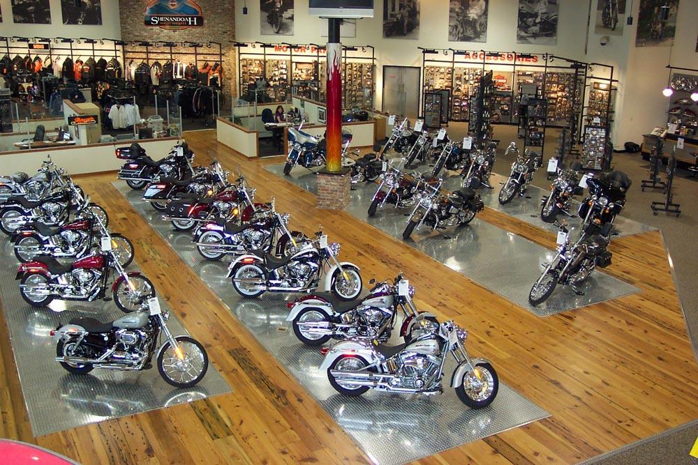 motorcycle showcase