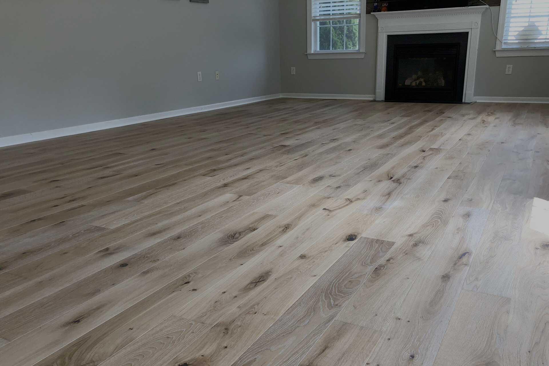 hardwood floor